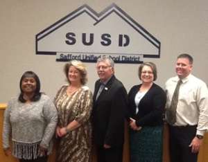 Image: Safford Schools Governing Board Meetings